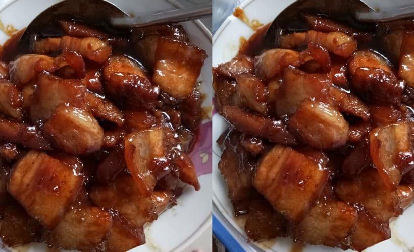Cách làm thịt ba chỉ khìa nước dừa thơm ngon, có màu đẹp