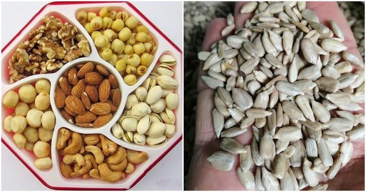 Danh sách các loại hạt ngày Tết thường bị tẩm hóa chất độc hại